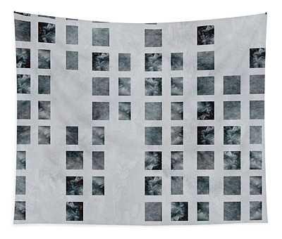 Moody Blues Data Pattern Tapestry