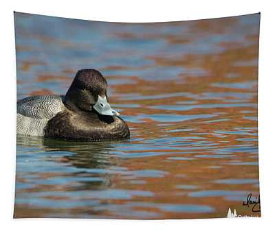 Moody Scaup Tapestry