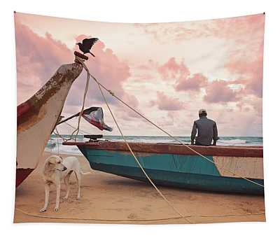 Moody Skies Tapestry