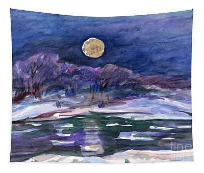 Moon Landscape Tapestry