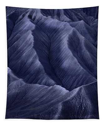 Moon Light Mountainside Tapestry