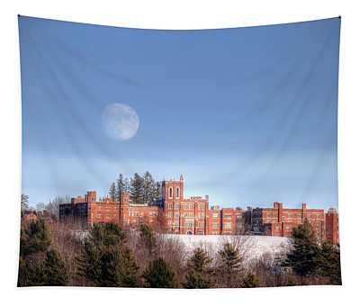 Moon Over Oak Grove  Tapestry