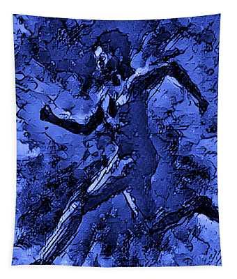 Moon Runner Tapestry
