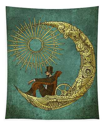 Moon Travel - Option Tapestry