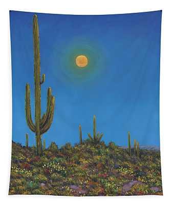 Moonlight Serenade Tapestry
