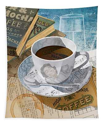 Morning Coffee Tapestry
