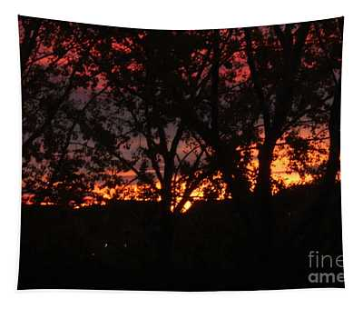 Morning Glow Tapestry
