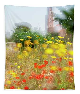 Morning Impressions Of Jaffa 3 Tapestry