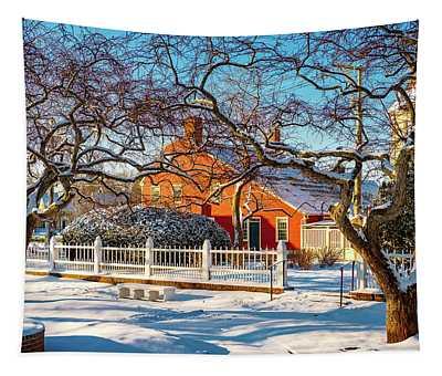 Morning Light, Winter Garden. Tapestry