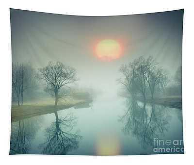 Morning Mist Tapestry