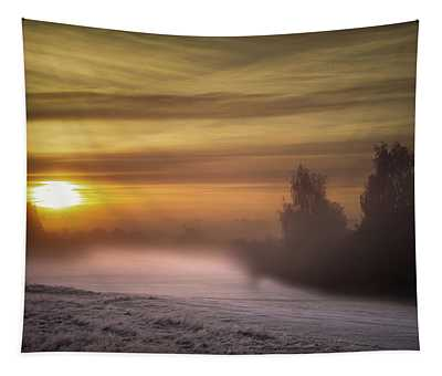 Morning Mist Show No 1 Tapestry