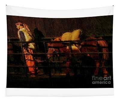 Morning Pony Tapestry