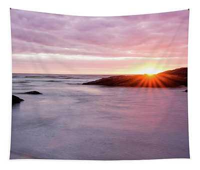 Morning Sun Good Harbor Tapestry
