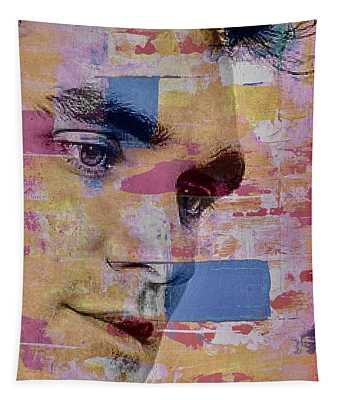 Morrissey Around Town Tapestry