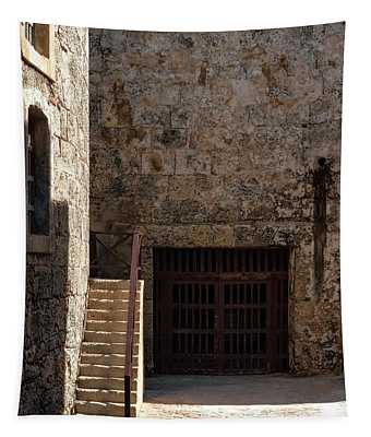Morro Castle Shadows Tapestry