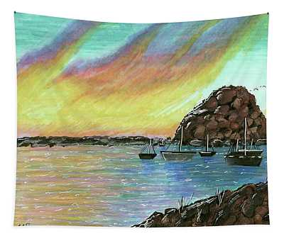 Morro Rock By Ella Wang Grade 6 Tapestry