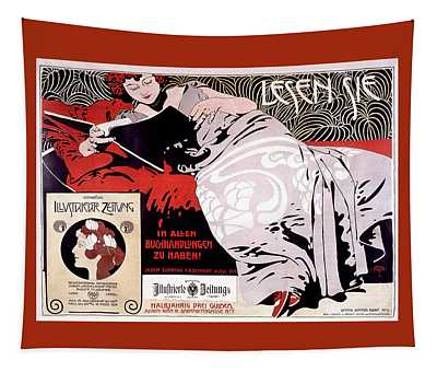 Moser Kolo 1900 Vintage French Advertising Tapestry