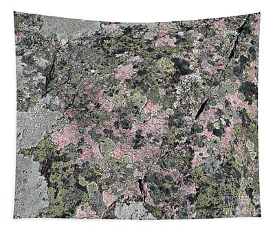 Moss On Rock Tapestry