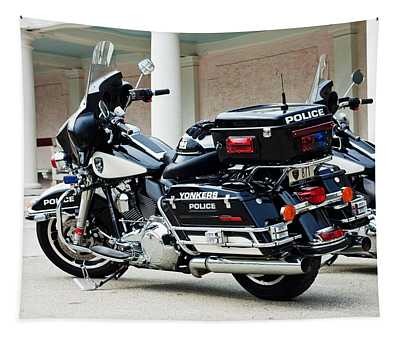 Motorcycle Cruiser Tapestry