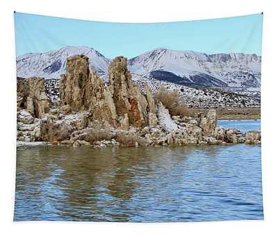 Mount Dana At Dawn  Mono Lake Tapestry