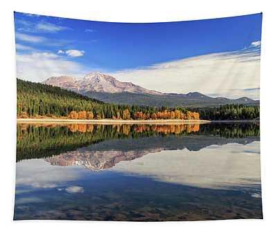 Mount Shasta From Lake Siskiyou Tapestry
