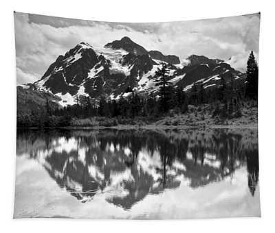 Mount Shuksan Reflection Tapestry