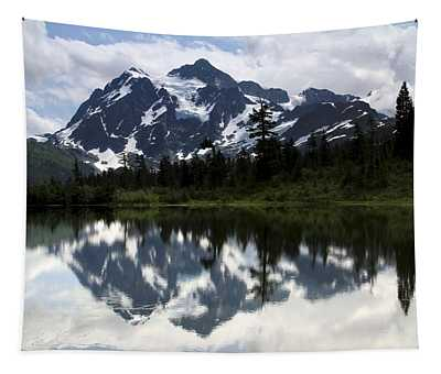 Mount Shuksan Reflection Picture Lake Tapestry