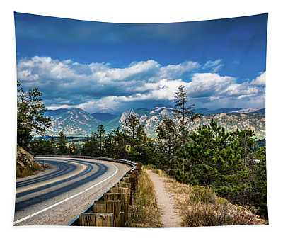 Mountain Curve Tapestry