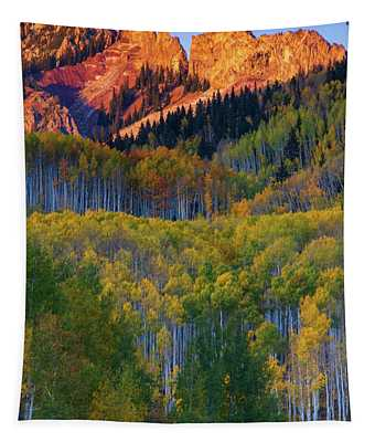 Mountain Light Tapestry