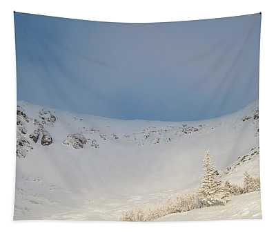 Mountain Light, Tuckerman Ravine Tapestry