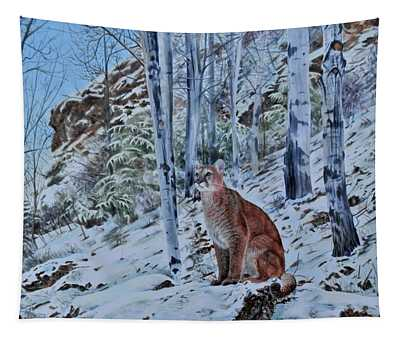 Mountain Lion Tapestry
