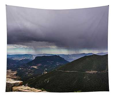 Mountain Rain Tapestry