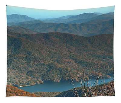 Mountain Ridges Tapestry