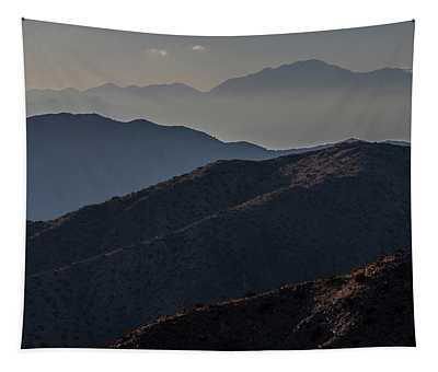 Mountain Silhouettes  Tapestry