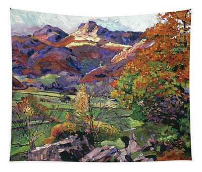 Mountain Valley Meadows Tapestry