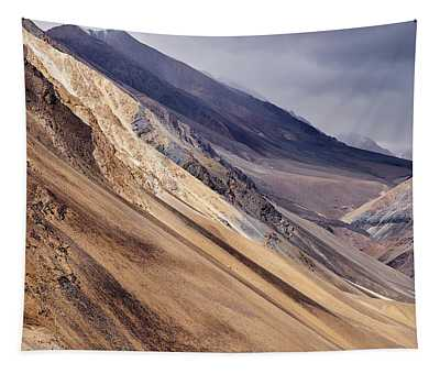 Tapestry featuring the photograph Mountainside by Whitney Goodey