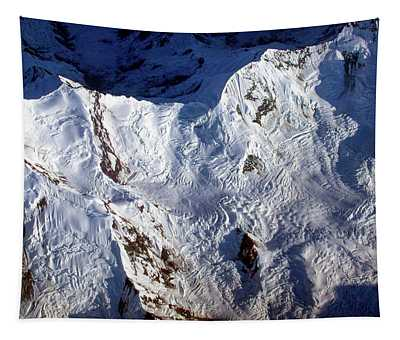 Mountaintop Snow Tapestry