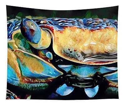 Mr. Crabby Tapestry