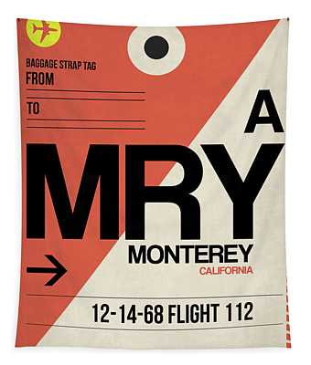 Mry Monterey Luggage Tag I Tapestry