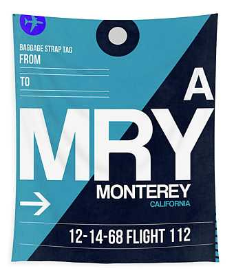 Mry Monterey Luggage Tag II Tapestry