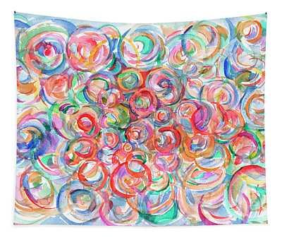 Multicolor Bubbles Tapestry