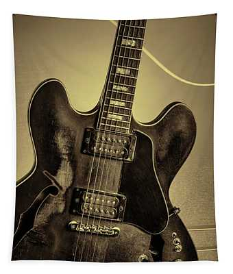 Music Picture Gibson Guitar 1744.012 Tapestry
