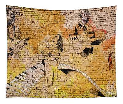 Musical Wall Mural Tapestry