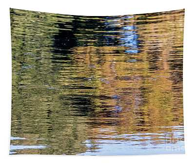 Muted Reflections Tapestry
