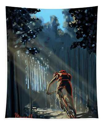 My Dirt Path Tapestry