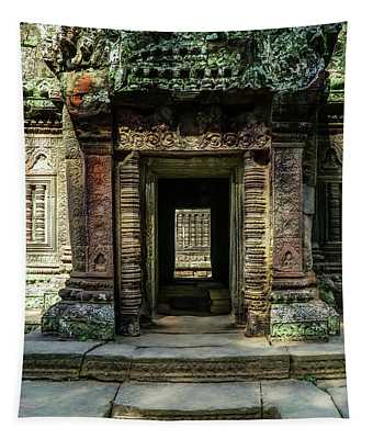 Mysterious Entrance Tapestry