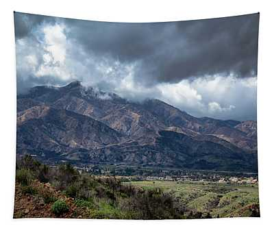 Mystical Mountains Tapestry