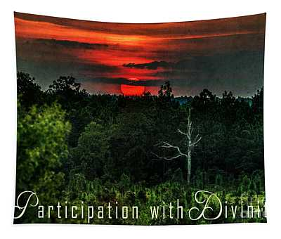Mystical Sunset Tapestry
