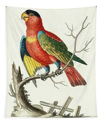 Natural History Of Uncommon Birds Tapestry