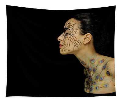 Nature Runs Through My Veins Tapestry